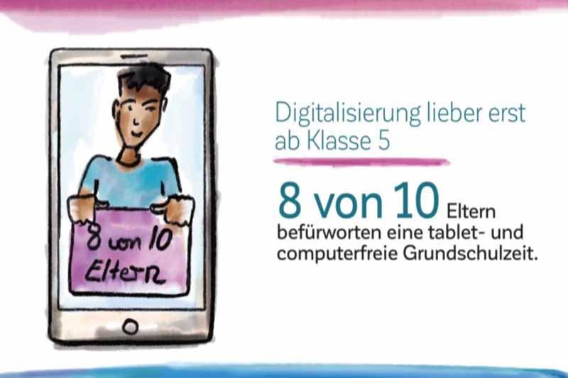 Handyverbot Elternstudie 2019 Waldorf NRW